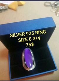 GORGEOUS SOLID STERLING SILVER RING  Montréal, H1S 1N8