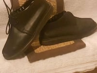 Mens Hand Made Black Leather Loafers by Clark's Calgary, T2A 6R2