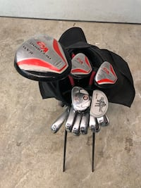 Golf clubs Adult Ram V9; complete set with golf bag. Ready to play Laval, H7H 2W2
