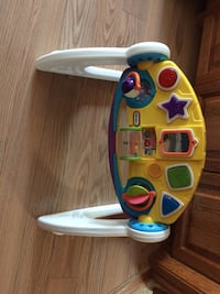 white and blue Fisher-Price learning walker Pitt Meadows, V3Y