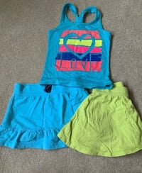 women's blue and yellow tank top Olney, 20832