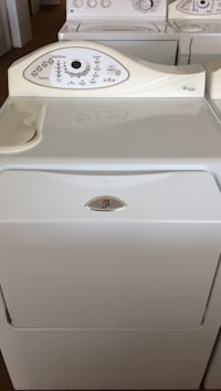 white Maytag front-load clothes dryer Cedartown, 30125