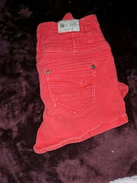 Red High Waisted Shorts Las Vegas, 89146