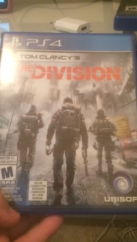 Sony PS4 The Division case Surrey, V3R 5X9