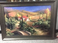 Beautifully framed Tuscan print them picture art Calgary, T3G 1Z9