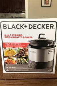 6-in-1 stirring rice& risotto cooker brand new Toronto, M9B 2Z5