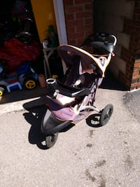 SAFETY 1st JOGGING STROLLER VERY GOOD CONDITION. Smoke and pet free home. Easy-to-push lightweight frame Wheels with spring shock suspension to smooth out the roughest of roads 12.5 INCH air-filled tires with aluminum rims provide performance and style Po Toronto