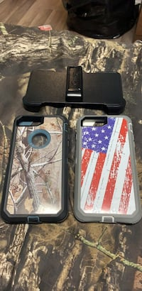 Iphone 6 +, 7+ Otter  Box cases with belt clip  East Meadow, 11554