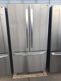 Brand new whirlpool French door refrigerator finance no credit check no interest just $39 down Houston, 77086