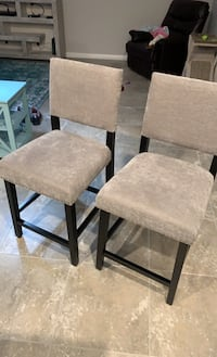 Counter height barstools (2)