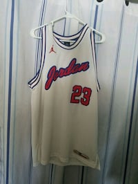 white and red Chicago Bulls 23 jersey Hookstown, 15050
