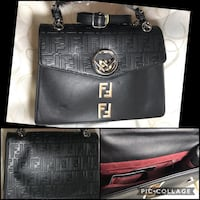 Brand new like Fendi logo blk purse with long handle . Montréal, H1R 2K2