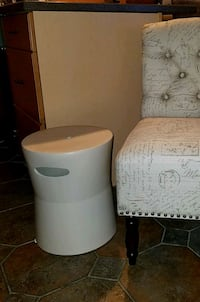 Brand new ceramic patio side tables!! Crestwood