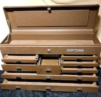 Craftsman Machinist toolbox in very good condition 796 mi