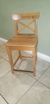 Ingolf Brand Bar Stool With Backrests** must go **