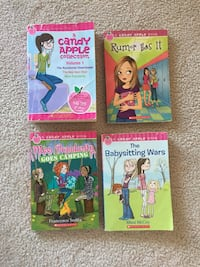 Candy apple series books and other various.