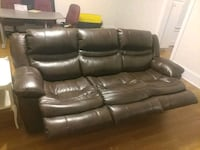 Reclining couch and love seat, new condition Waynesboro, 30830