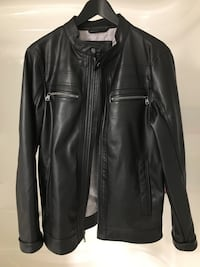 Men's Calvin Klein Faux Leather Moto Jacket - Small Guelph, N1K 0C7