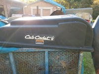 cub cadet 3 bag leaf collector Frederick