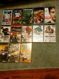 Various PSP Games Charles Town, 25414