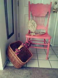 pink and white floral swing chair Modesto, 95350