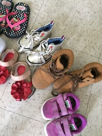toddler's assorted shoes Los Angeles, 90018