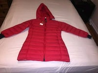 red and white zip-up hoodie Dorval, H9S 3H6