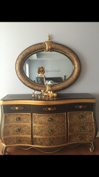 Antique mirror and drawer Chantilly, 20151