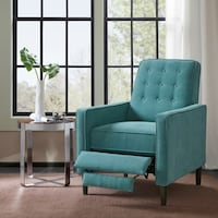 Madison Park Teal Recliner Miami, 33131
