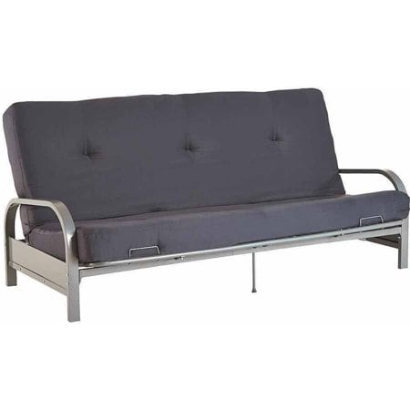 Mainstays Silver Metal Arm Futon Frame.With Full S