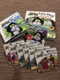 Jess board books North Dumfries, N0B