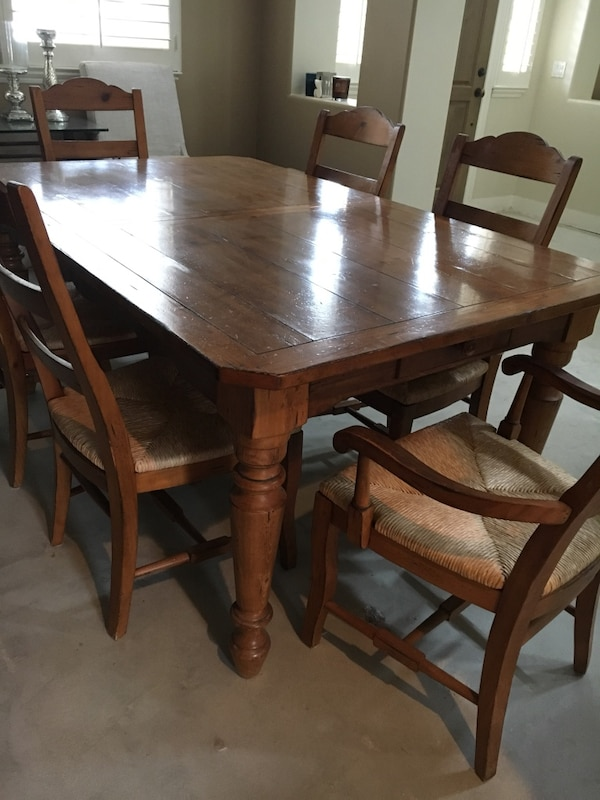 Used Dining Table W 6 Chairs Drexel Heritage Good Condition For