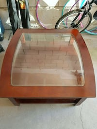 COFFEE TABLE( glass top)
