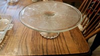 round clear glass bowl with lid Montclair, 22025
