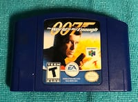 007 World Is Not Enough James Bond for Nintendo 64 N64 *AUTHENTIC* *TESTED*. Норт-Лодердейл, 33319