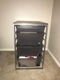 Elfa Drawer Stack Silver Spring, 20906