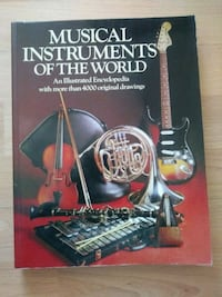 Book MUSICAL INSTRUMENTS OF THE WORLD 2407 mi