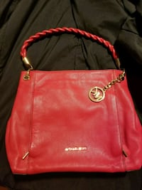 red Michael Kors leather bag Coral Gables, 33146