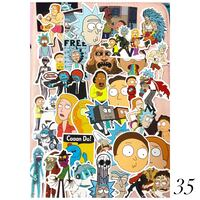 35 PIECES RICK AND MORTY STICKERS Toronto, M4B 2T2