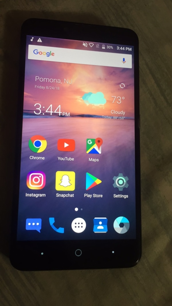 T-mobile or metro pcs   Zte Android z981