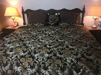 King bedroom 5 set with mattress and box spring