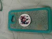 white and blue floral phone case with wolf popsock Mattoon, 61938