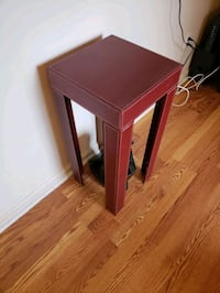 Red Side Table (Print) Louisville, 40206