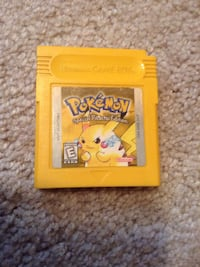 Pokemon yellow version game boy video game Nintendo new save battery