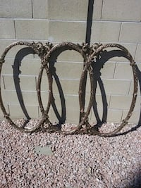 3 ring wood frame for .mirror Phoenix, 85016