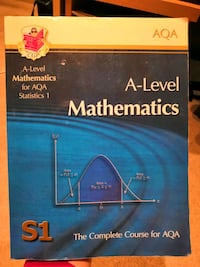 A-level Mathematics for AQA S1 CGP Complete Course Greater London, N21 1DY