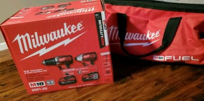 Milwaukee Impact and Drill