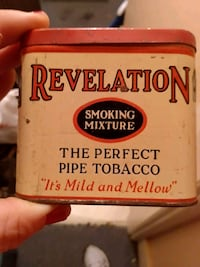 Antique tobacco & saddle soap tins Goffstown