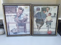 Two Norman Rockwell Prints Mississauga, L5N 4L7