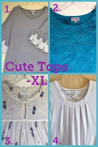 Four Cute Tops — XL Santa Ana, 92704